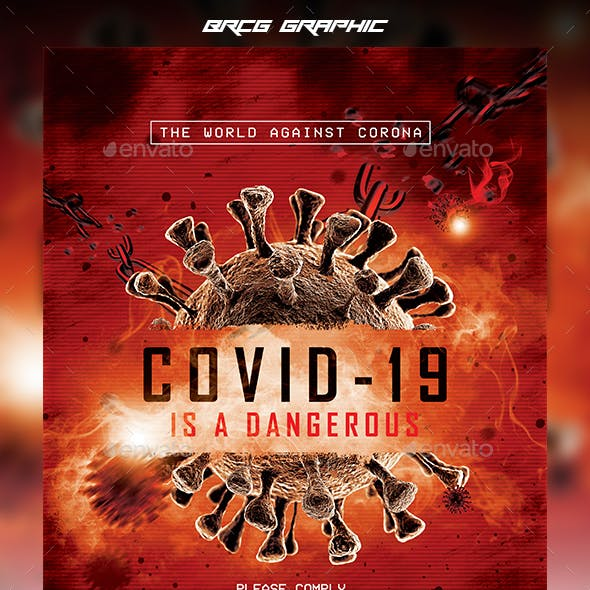 Covid-19 Flyer Template