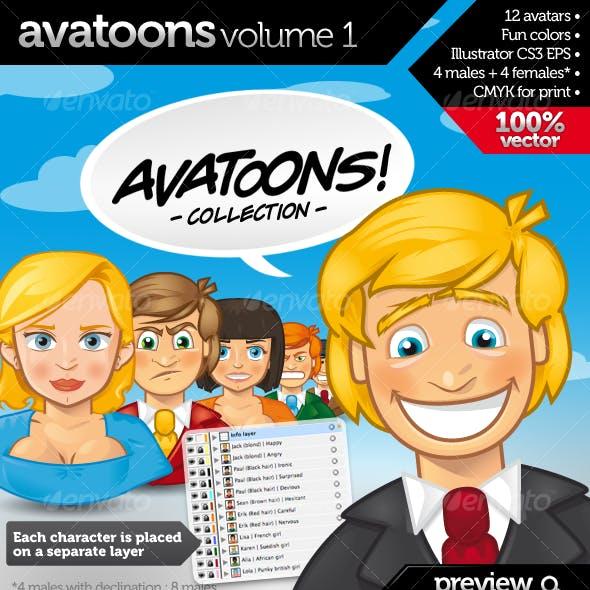 Avatoons vol.1