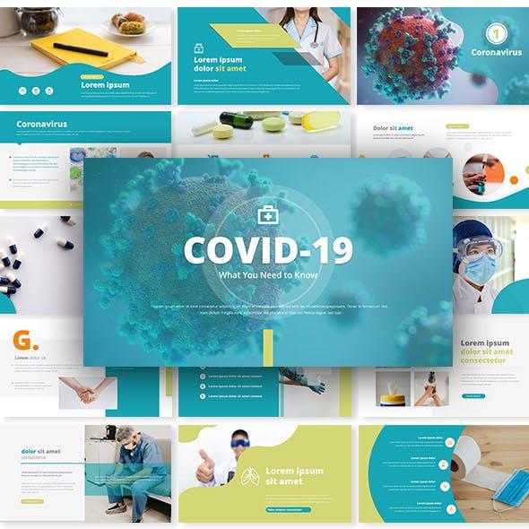 Covid-19 Coronavirus - Power Point Presentation Template