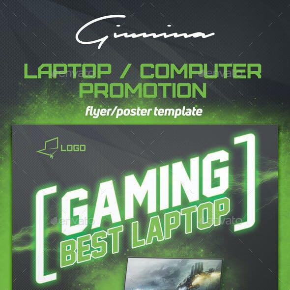 Laptop / Computer Promotion Flyer/Poster