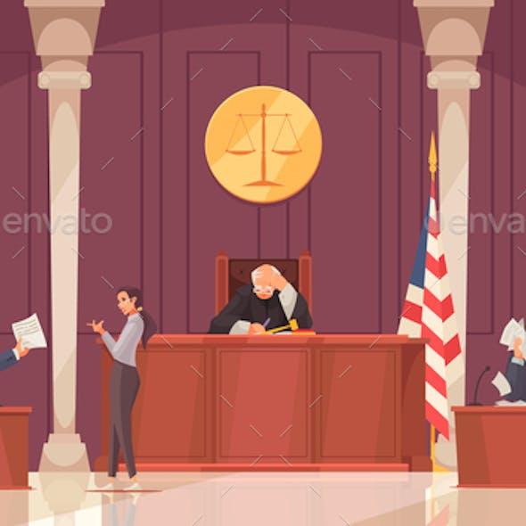Court Session Law Composition