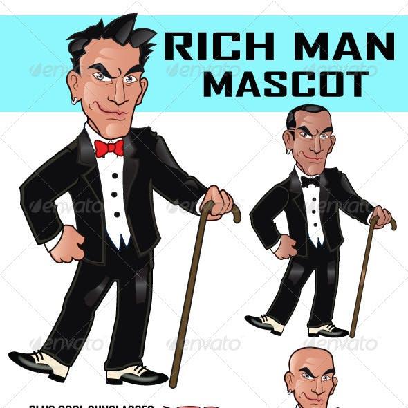 Rich Man Cartoon