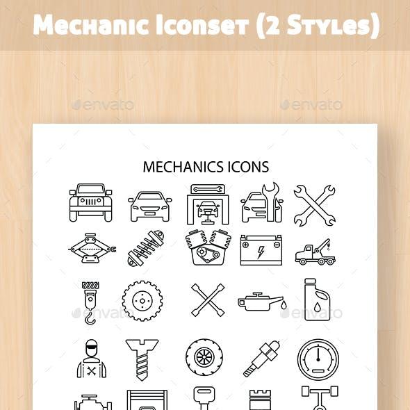 Mechanic Iconset