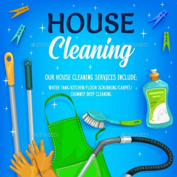 House Cleaning, Equipment and Tools