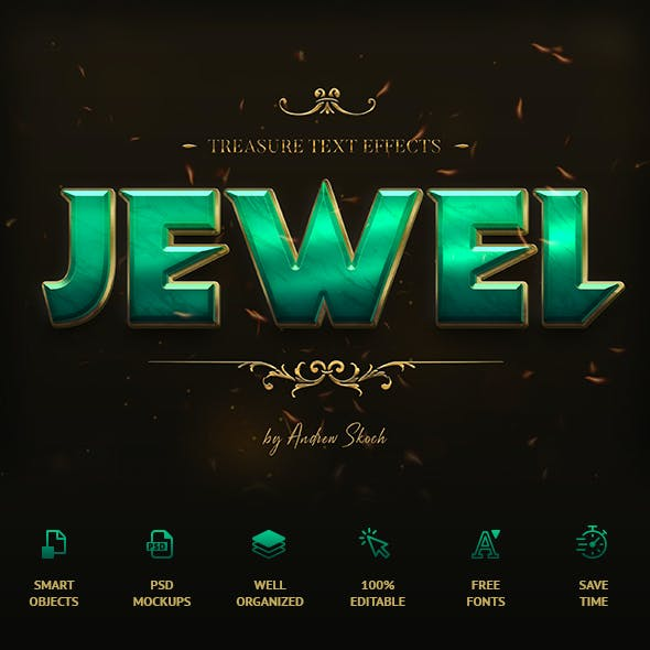 Treasure Text Effects