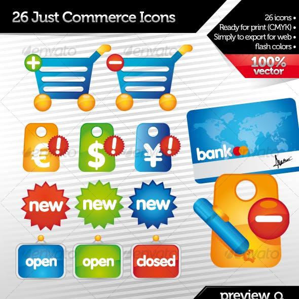 Just Commerce Icons