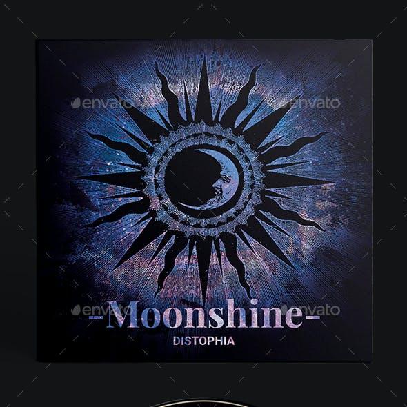 Moonshine - CD Cover Artwork Template