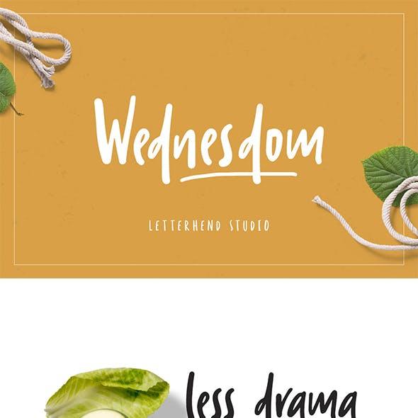 Wednesdom – Playful Font