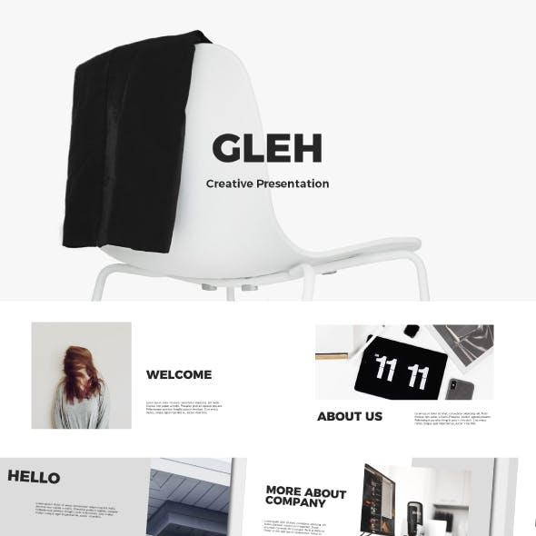 Gleh | Business Presentation Template