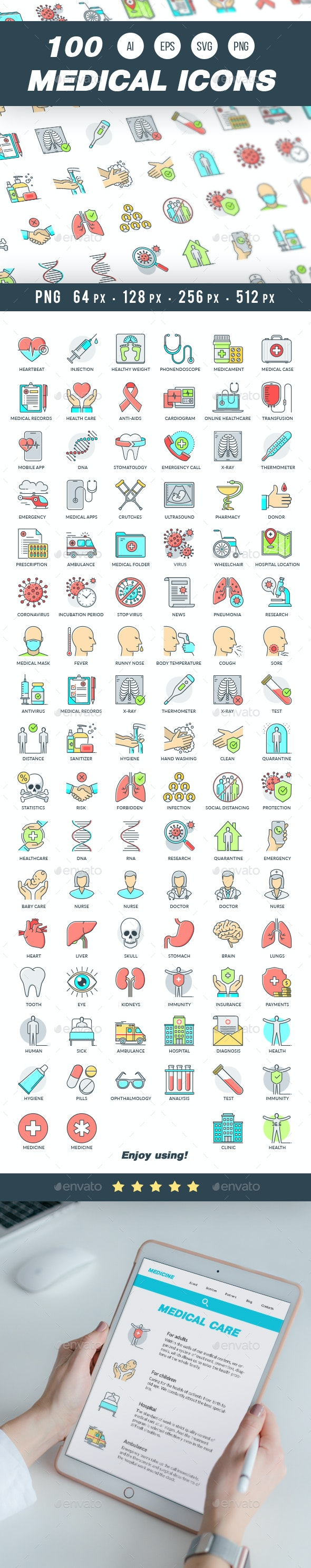 Medical Icons - Miscellaneous Icons
