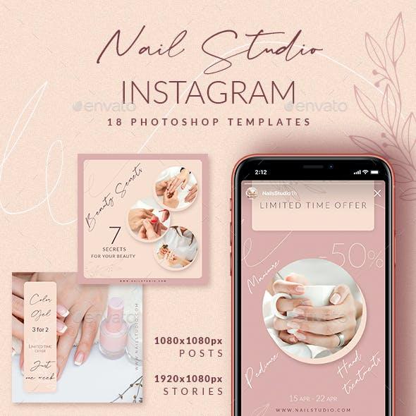 Nail Studio Instagram