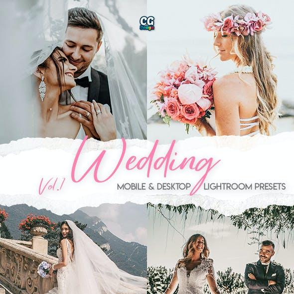 Wedding Lightroom Presets Vol. 1 - 15 Premium Lightroom Presets