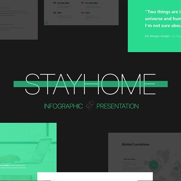StayHome - Animated Presentation