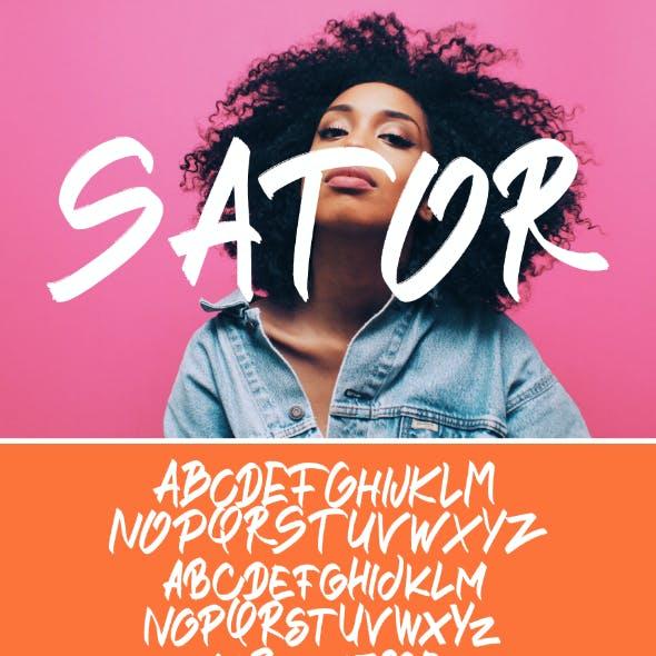 Sator Font