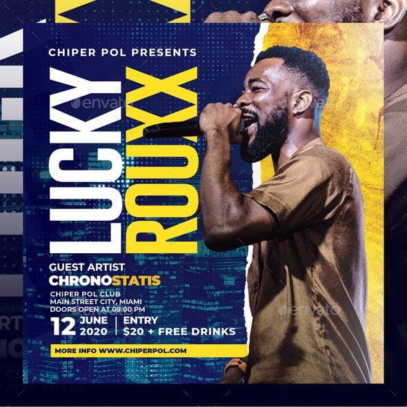 Concert Party Flyer