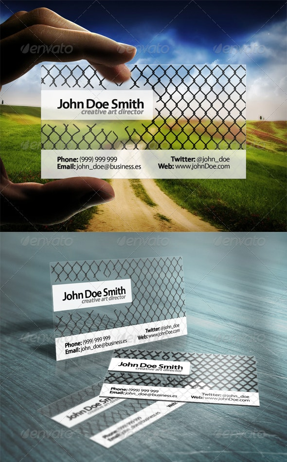 Freedom Business Card - Creative Business Cards