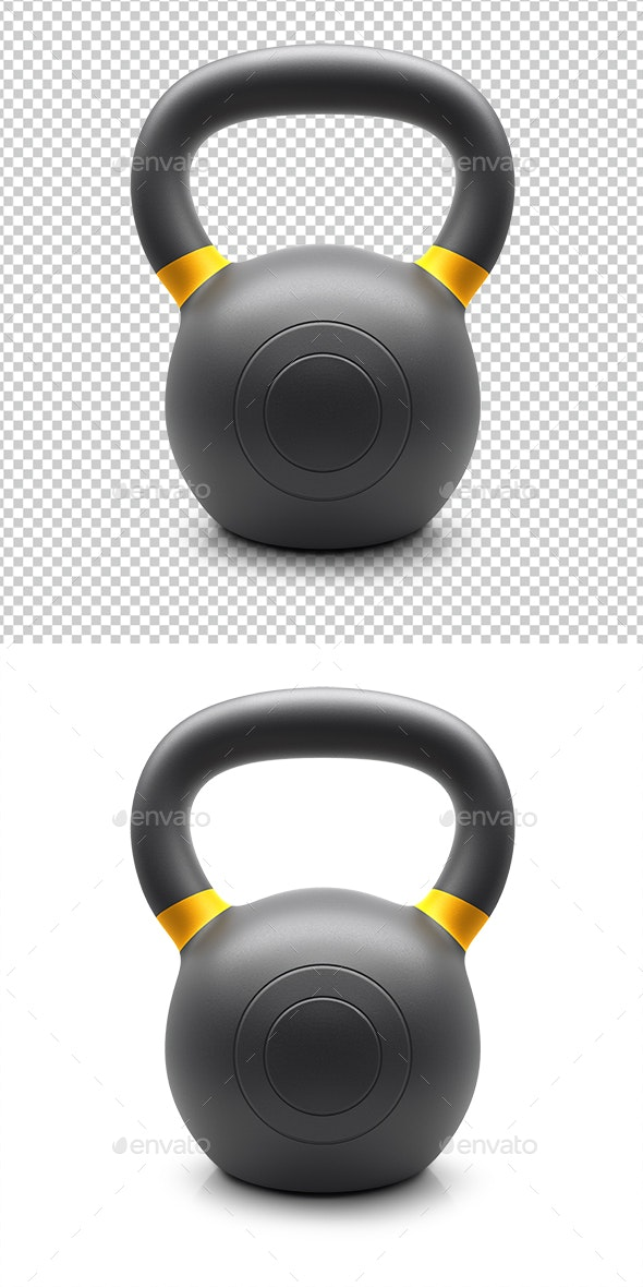 Kettlebell - 3D Renders Graphics