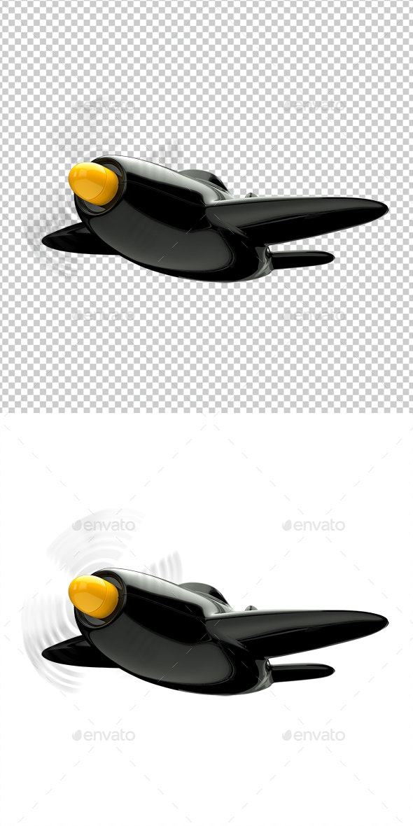Airplane - 3D Renders Graphics