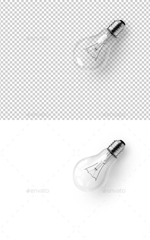 Lamp Bulb - 3D Renders Graphics