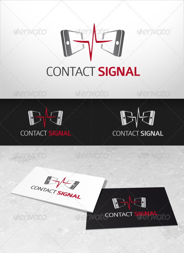 Contact Signal - Objects Logo Templates