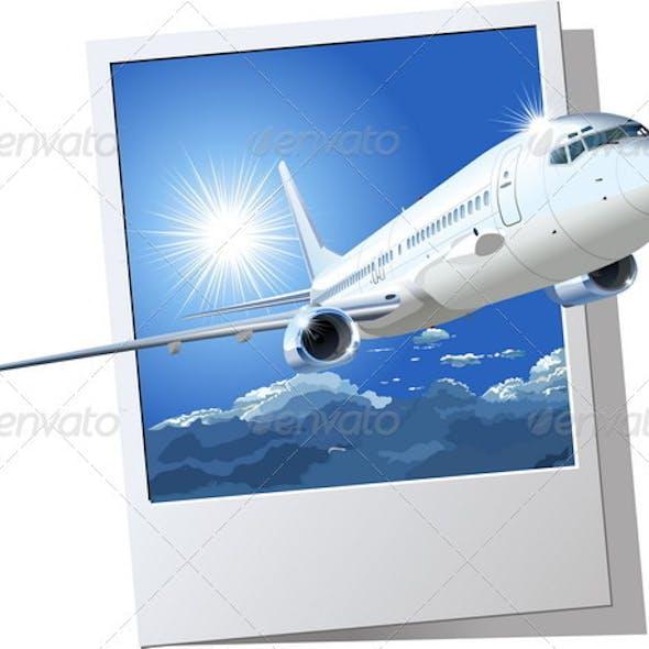 Passenger Boeing 737