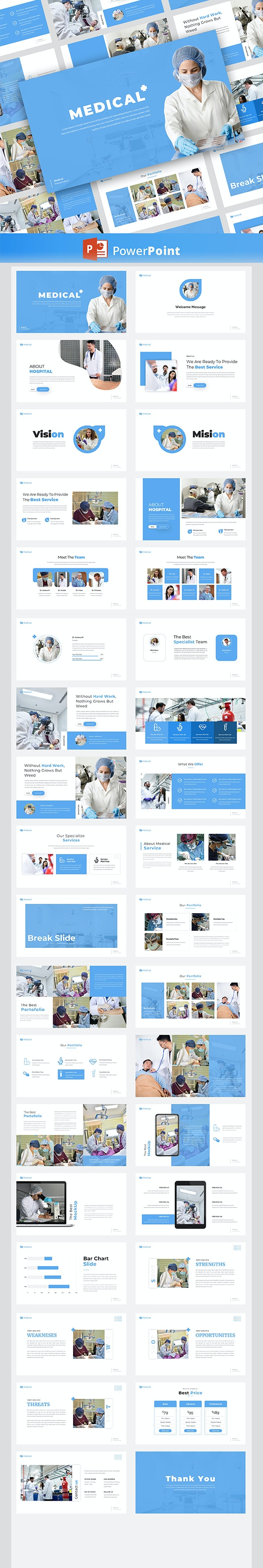 Medical – PowerPoint Template - Creative PowerPoint Templates
