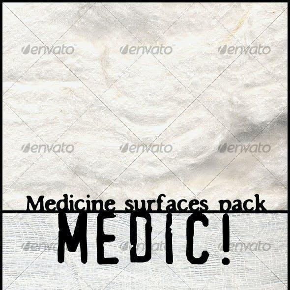Medic! Medicine surfaces pack