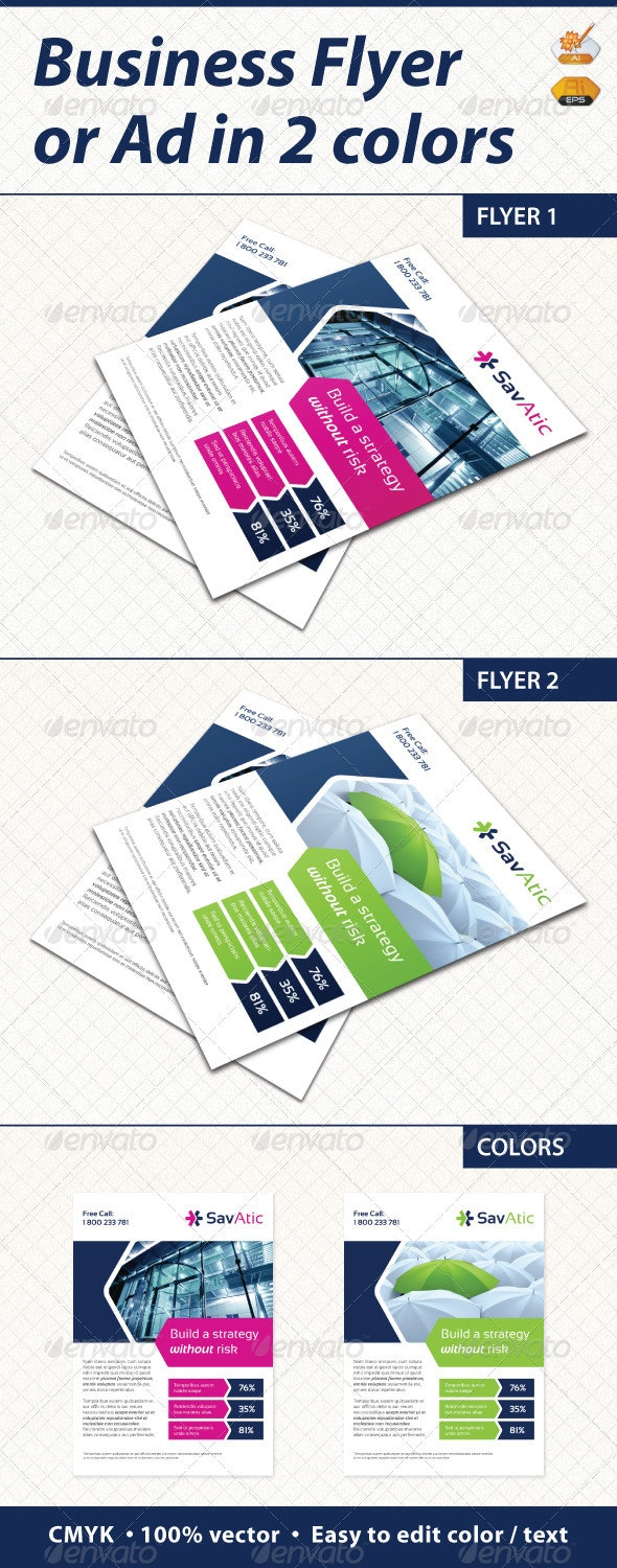 Flyer / Ad - Corporate Flyers