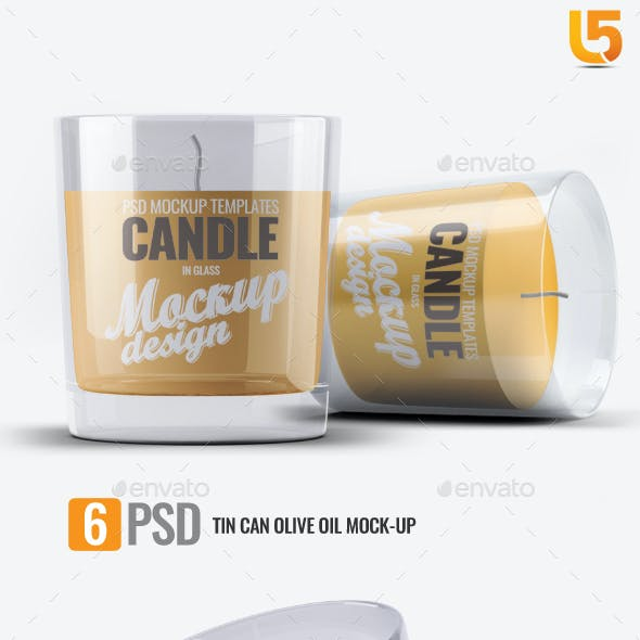 Scented Candle Mock-up