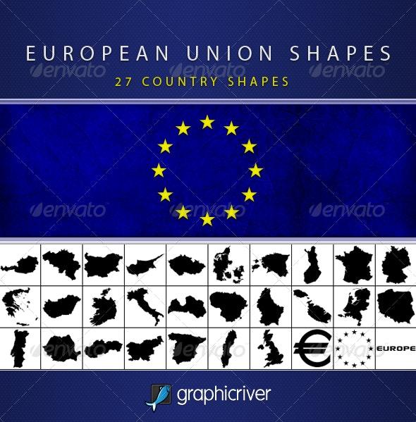 European Union Shapes - Symbols Shapes