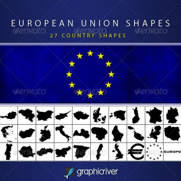 European Union Shapes