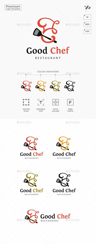 Chef - Food Logo Templates