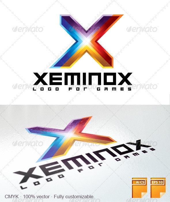 Xeminox Games Logo - Letters Logo Templates