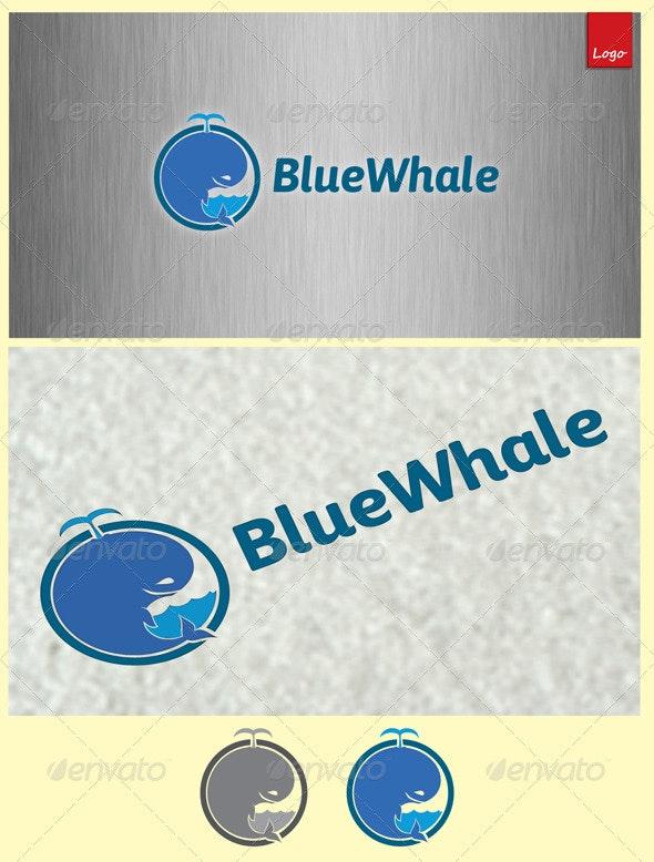 Blue Whale - Animals Logo Templates