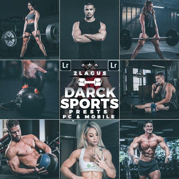 Darck Sports moody Presets  Mobile & Desktop Lightroom