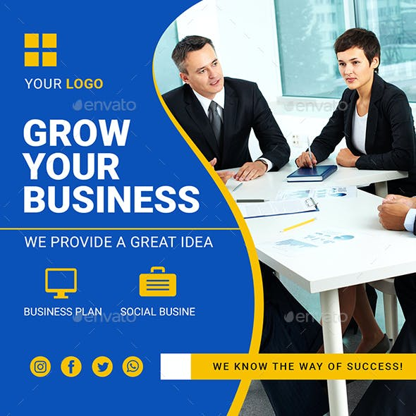 Business Social Media Banner