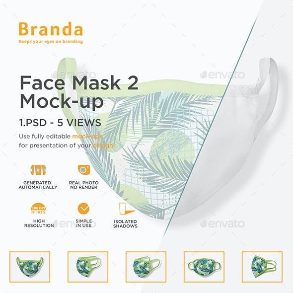 Face Mask 2 Mock-up