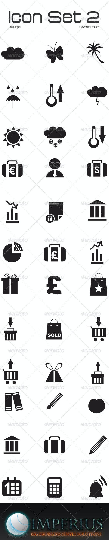 Icon Set 2 - Technology Conceptual