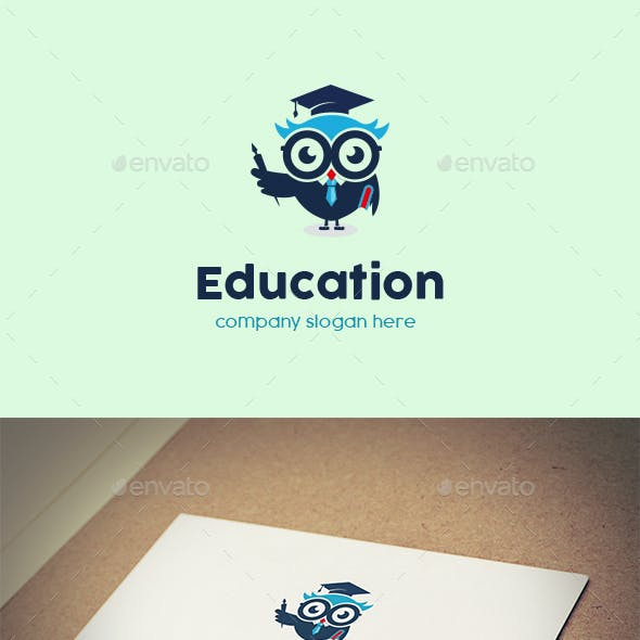 Owl Education Logo Design