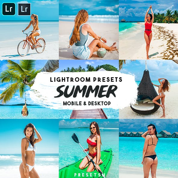 Summer Lightroom Presets Mobile & Desktop