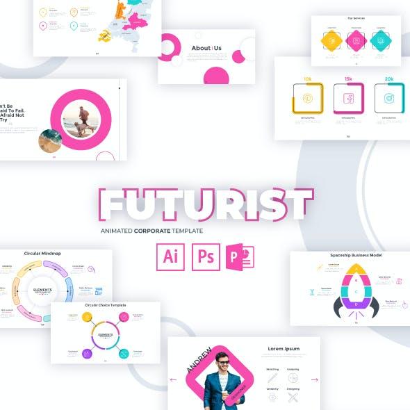 Futurist Slides For Powerpoint