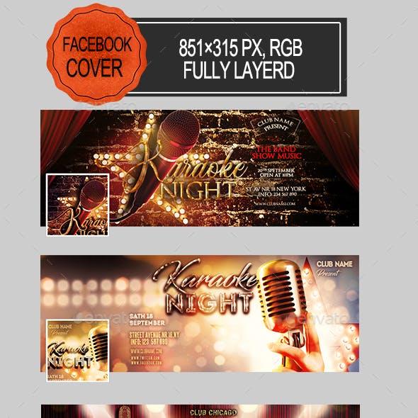Karaoke Night Facebook Covers