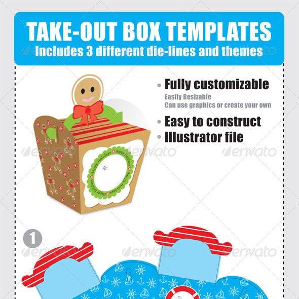 Take-Out Box Templates