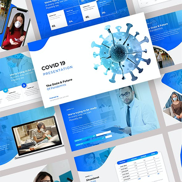 Covid 19 - Medical Powerpoint Templates