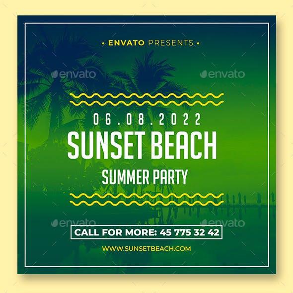 Summer Animation Banner