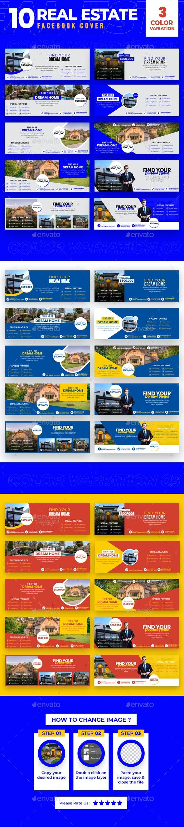 Real Estate 10 Facebook Cover - Facebook Timeline Covers Social Media