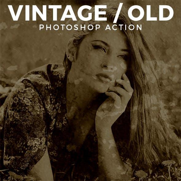 Vintage / Old Photo Effect
