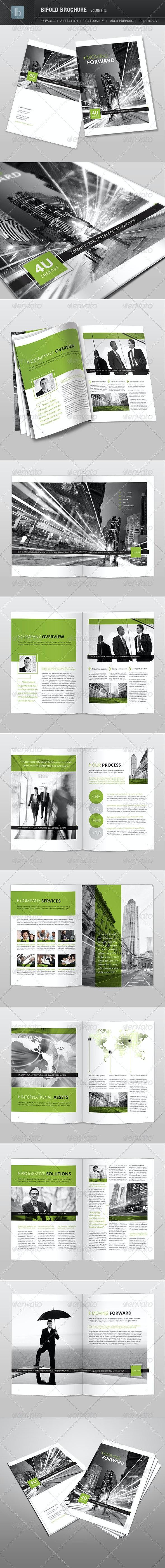 Bifold Brochure | Volume 13 - Brochures Print Templates