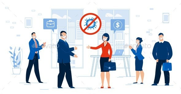 Successful Partnership Cooperation Financial Agree - Business Conceptual