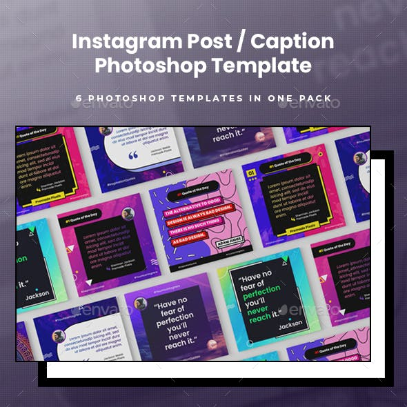 Instagram Post Template - Quotes & Captions